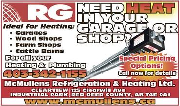 Need heat in your garage shop