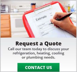 Request a Quote: Call our team today to discuss your refrigeration, heating, cooling or plumbing needs: Contact Us